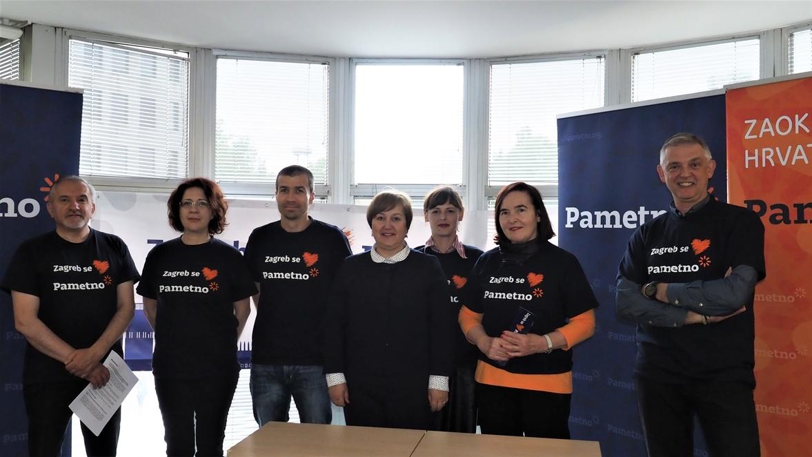 Konferencija za novinare Pametno za Zagreb